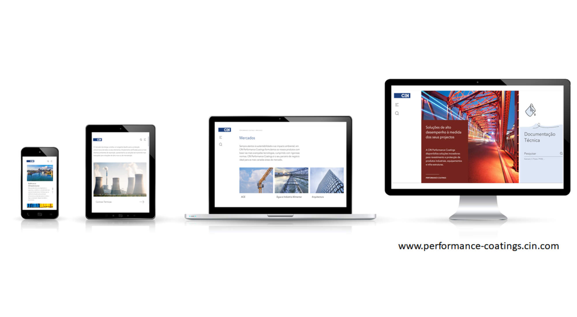 CIN launches new website for  Industrial and Protective Coatings