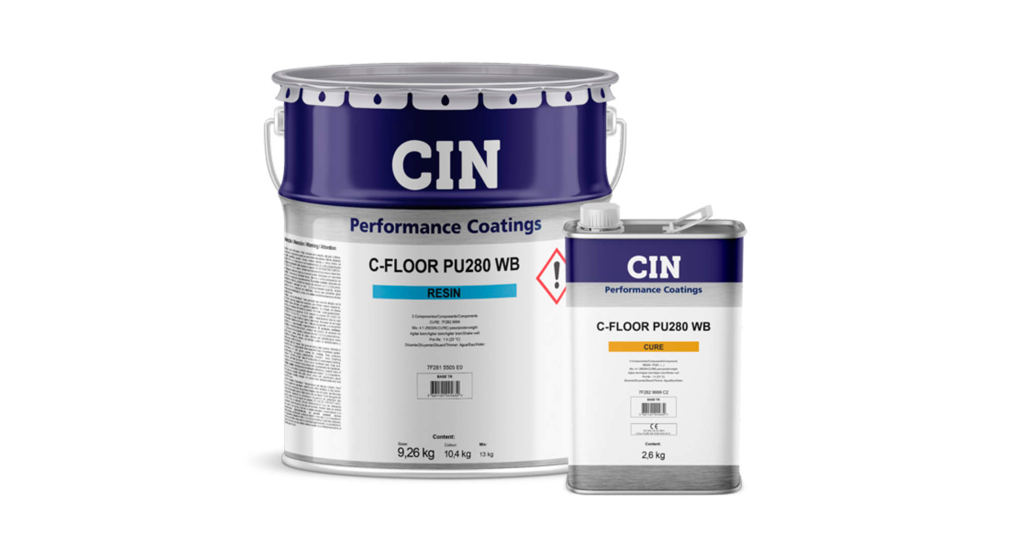 CIN launches C-FLOOR® PU280 WB to coat large areas of concrete